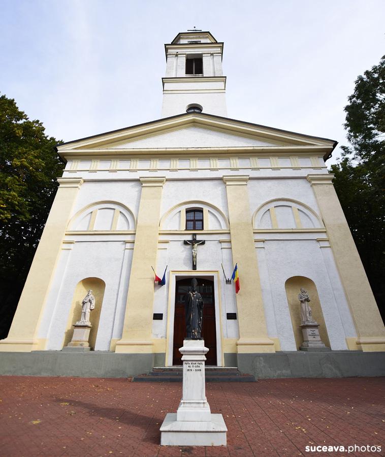 Biserica Romano-Catolică Sfântul Ioan Nepomuk (Suceava)